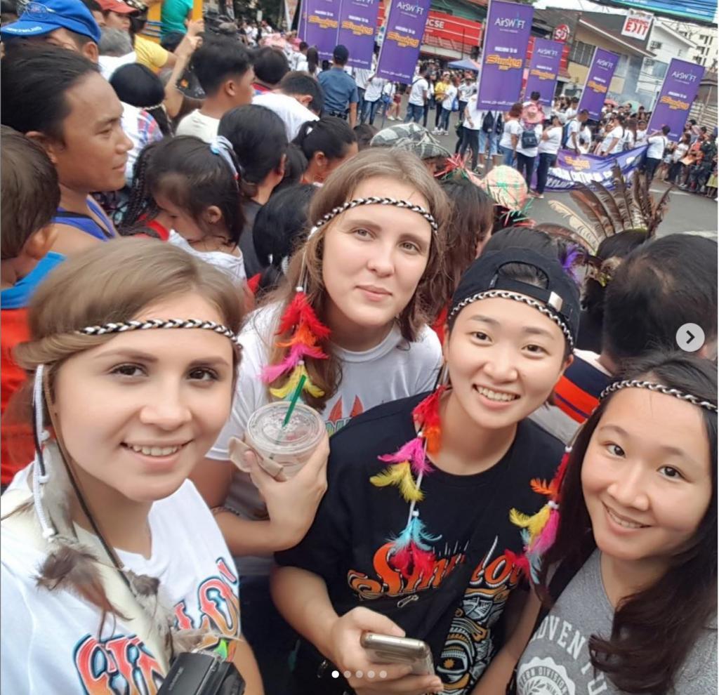 русские студенты на филиппинах