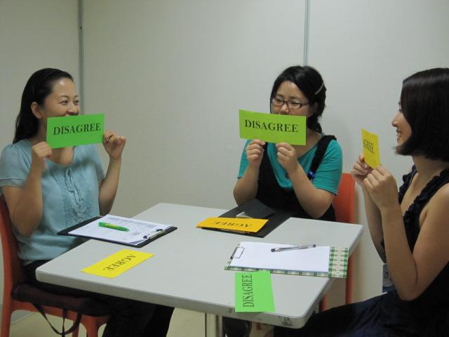 First English Global College. Занятие в малой группе