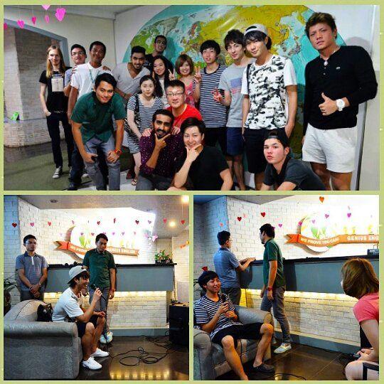 студенты в школе английского языка