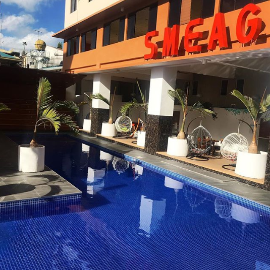 SMEAG бассейн в кампусе SPARTA